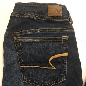 American Eagle Outfitters Kick Boot Jeans Size 6